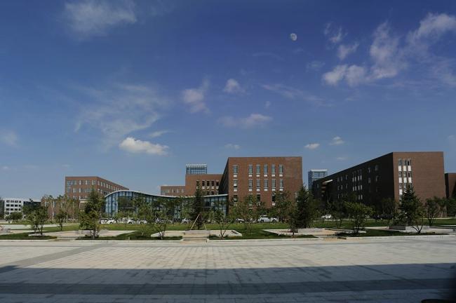 抚顺大学_【艾景奖2015年度作品】抚顺大学校园景观设计